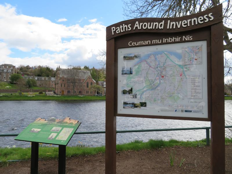 Inverness paths to walk